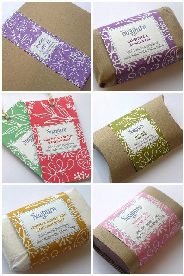 Print For Love Of Wood Letterpress Soap Packaging