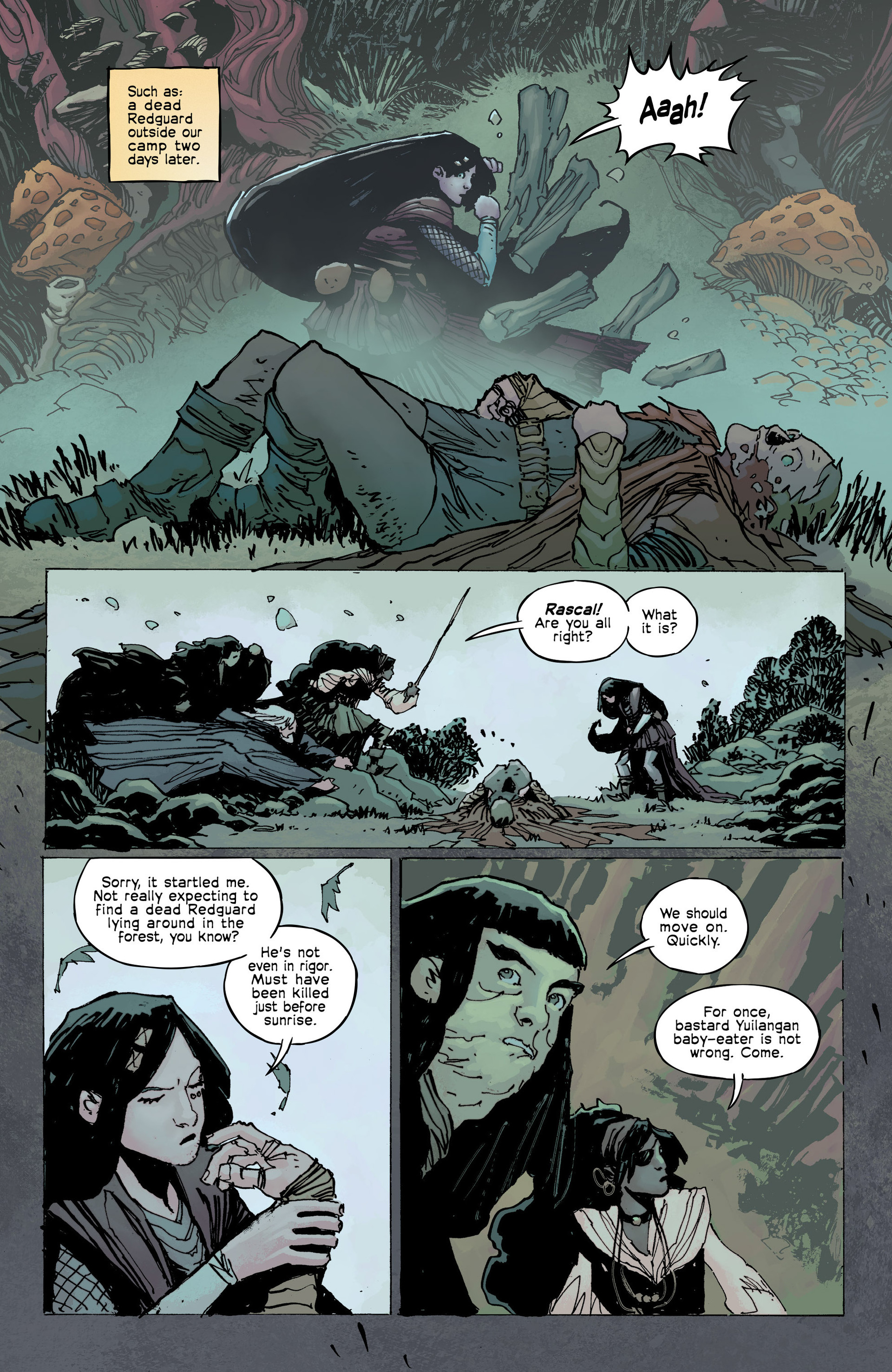 Read online Umbral comic -  Issue #8 - 15