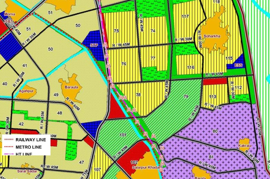 About Sector 70s of Noida: Sector 7X and Delhi Metro