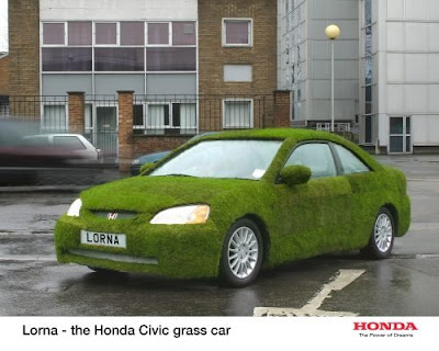 15 Cool Grass Covered Cars (16) 10