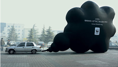 Clever and Creative Advertisements Inspired by Vehicles' Exhaust Pipes (9) 8