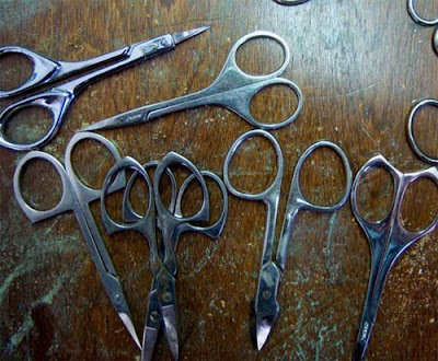 Sculptures Created From Scissors (14) 2