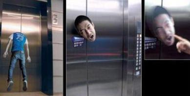 creative elevator advertisements