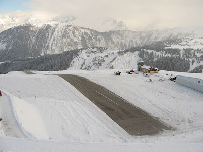Courchevel Airport - Steepest runway (9) 5