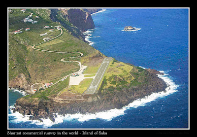 Saba's Yrausquin Airport -World's Shortest Commercial Airport Runway (8) 5