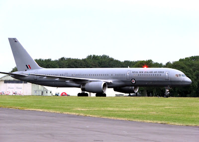 Boeing 757-2 primarily used by the Prime Minister