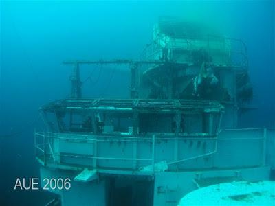 Oriskany becoming a artificial reef (9) 9