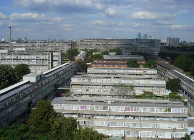 Aylesbury Estate in Southwark