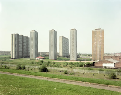 Red Road Flats in Glasgow, the tallest Council (Public Housing) blocks in the UK (3) 2