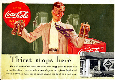 Interesting Vintage Advertisement of Coca Cola