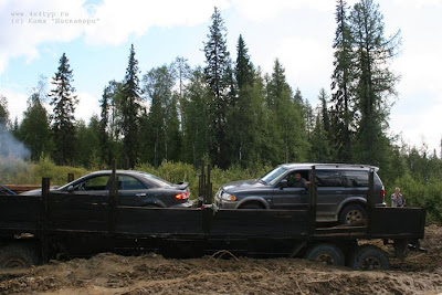 transports cars through mud (5) 3