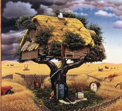 Fictional Surreal Art By Jacek Yerka (11) 3