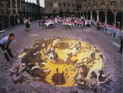 Amazing Street Paintings Of Kurt Wenner