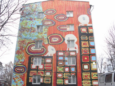 Painting on Buildings 20