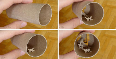 Artwork Created Inside The Toilet Paper Rolls (15) 13