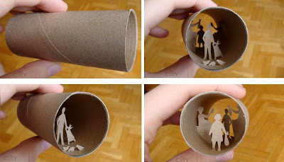 Artwork Created Inside The Toilet Paper Rolls (15) 10
