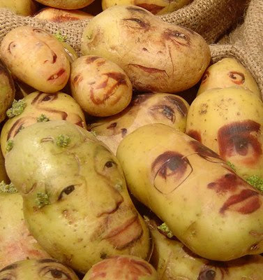 Potato Art and Sculptures (30) 2
