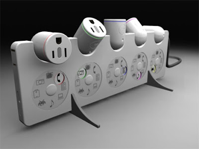 Cool Creative and Modern Extension Cords and Powerstrips (30) 23