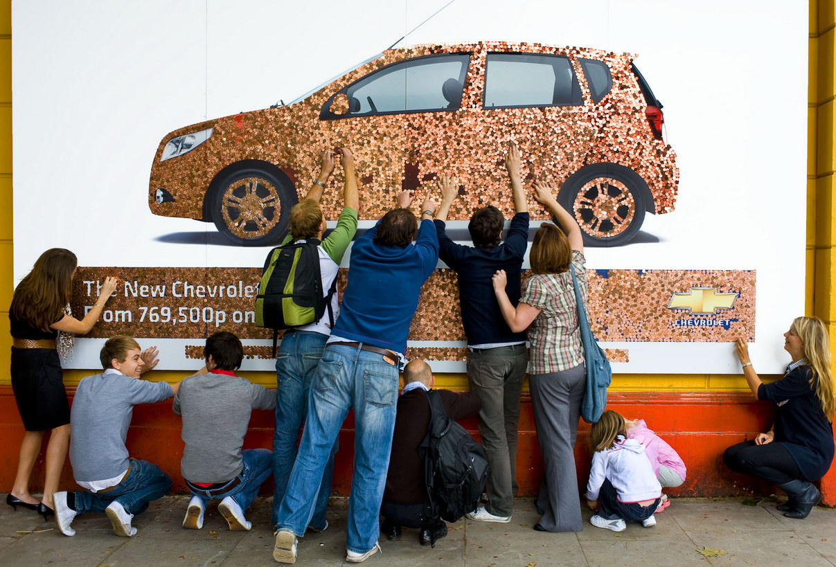 Creative Advertising Billboards And Posters Created With
