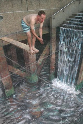 3D Swimming Pool Illusion