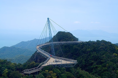 Interesting Pedestrian Bridge - Pulau Langkawi, Sky Bridge (6) 2