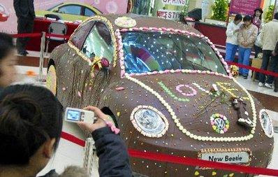 Chocolate Covered  Car