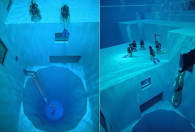 World's deepest swimming pool (2) 1 2