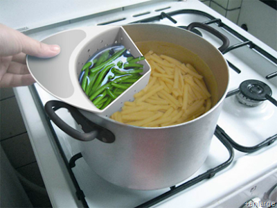 Eco-Cooker: Use Cooking Water and Fuel Two-Fold