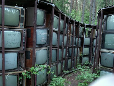 Worlds Largest Sculpture Made of TV Sets - LNK Infotree (4) 3