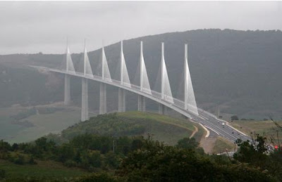 The Tallest Vehicular Bridge In The World - The Millau Viaduct (11) 10
