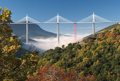 The Tallest Vehicular Bridge In The World - The Millau Viaduct