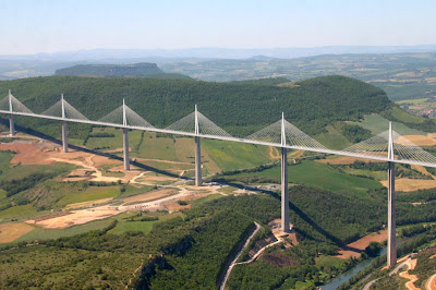 The Tallest Vehicular Bridge In The World - The Millau Viaduct (11) 6