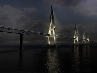 Fehmarn Belt Bridge, Baltic Sea