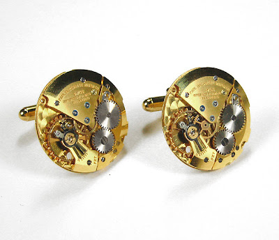 Handmade Luxury Designer Watch Cufflinks (9)  1