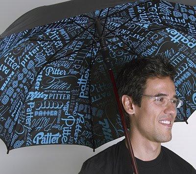 Typography Umbrella
