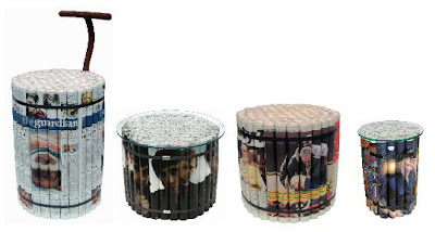 Creative Newspaper Furniture (3) 3