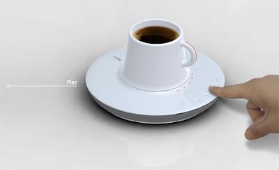 Coffee Plus Music With Saucer CD Player (4) 3