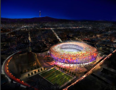 The Football Stadium For FC Barcelona (3) 2