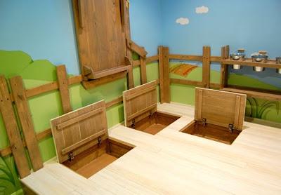 Kidtropolis\' Indoor Tree House Bedroom.