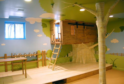Kidtropolis' Indoor Tree House Bedroom (3) 1