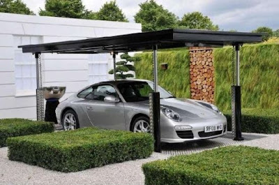 Incredible Hidden Car Garage Designs