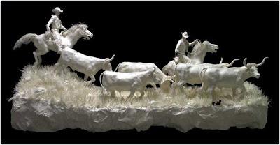 Cast Paper Sculptures (3) 1