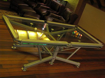 Pool Table Made Of Glass (6) 6