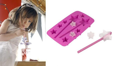 Ice Princess Star-Shaped Ice Cube Tray
