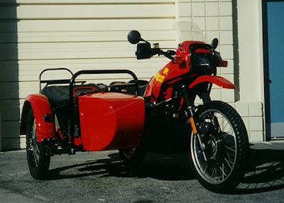 B.M.W Ural Sidecar