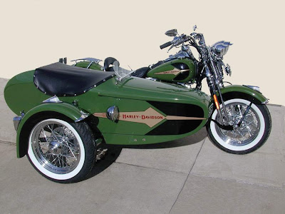 2003 HD Heritage Springer with Olive & Black