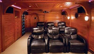 36 Creative and Cool Home Theater Designs (70) 22