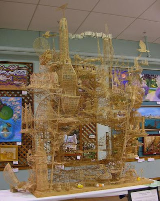 Toothpick Sculptures (21) 8