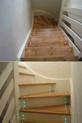 20 Creative and Modern Staircase Lighting Designs (20) 16