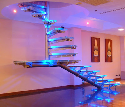 20 Creative and Modern Staircase Lighting Designs (20) 2